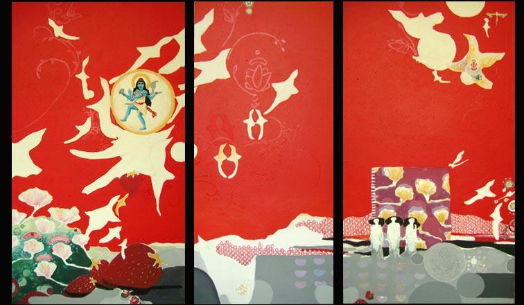 Triptych Marie Tomanová