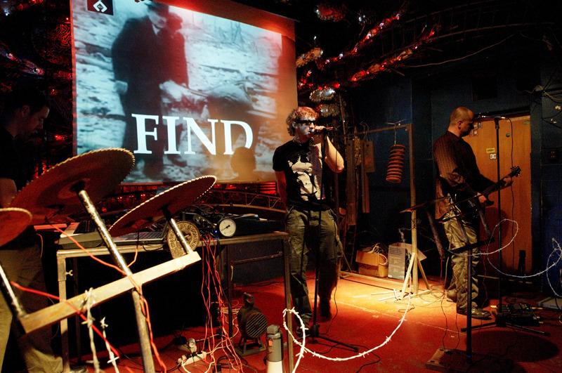 Akimbo on stage