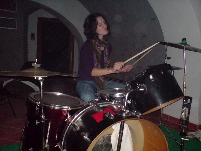 Eliška za bicíma Awberah