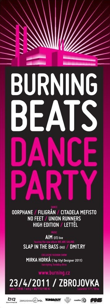 burningBEATS DANCE pARTy