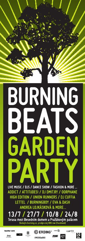 burningBEATS GARDEN pARTy