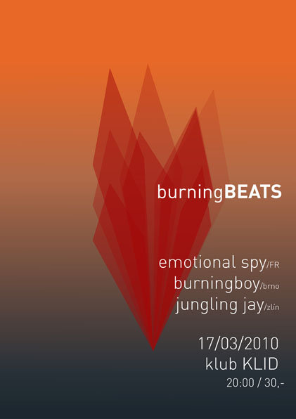 burningBEATS flyer